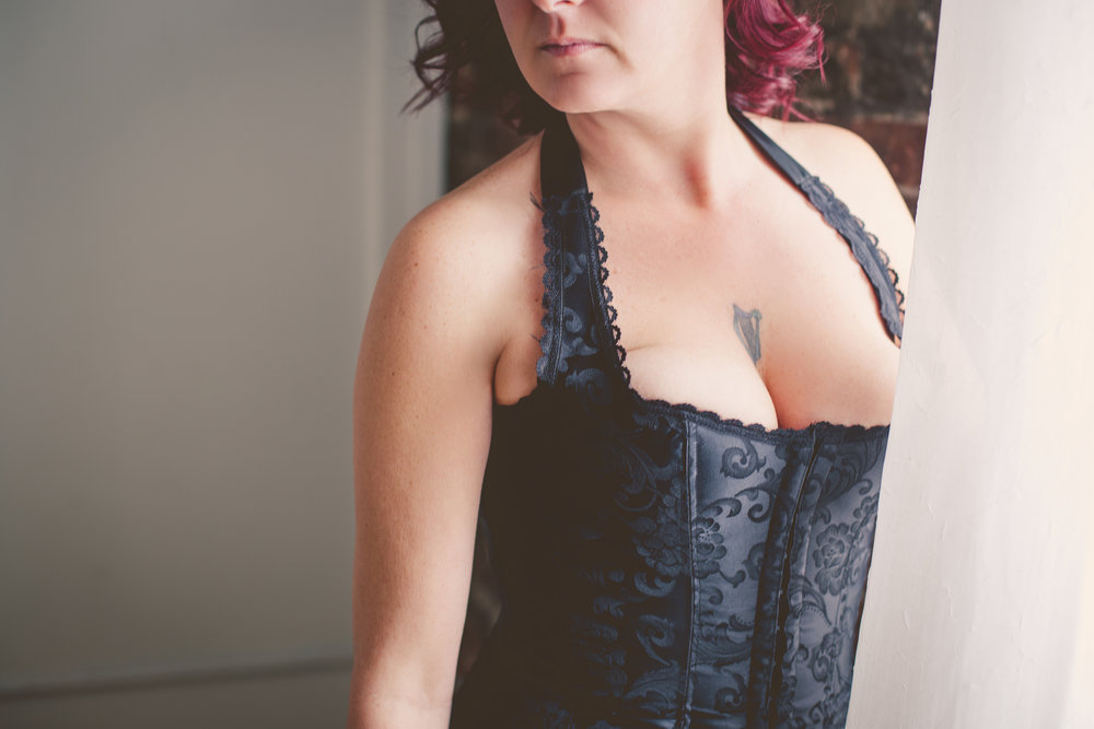 Corsets - Corset tops come in a variety of shapes and looks.  These can be a really fun option for those of us who are mid-section conscious!