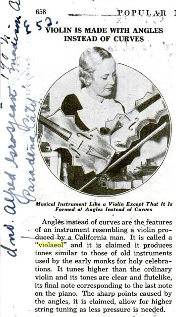 Popular Mechanics article from 1935.