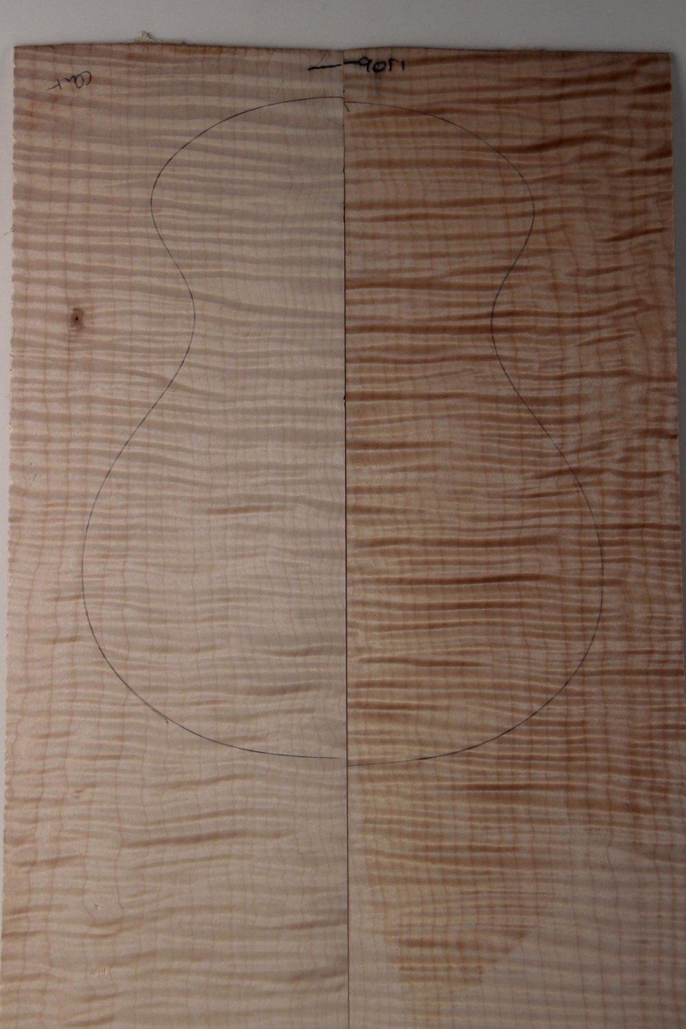 Curly Maple 1 - AAAA