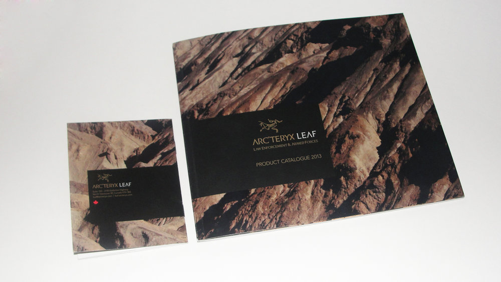 Arcteryx LEAF Product Catalogue