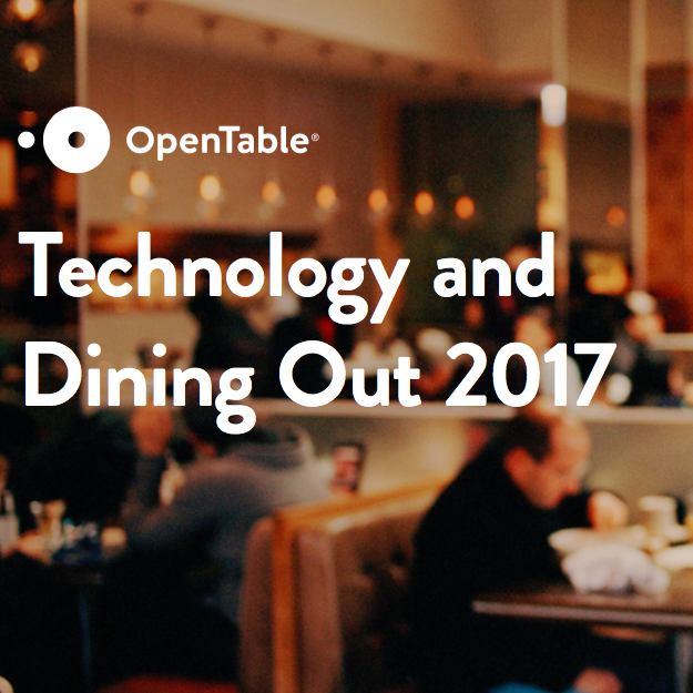 Technology + Dining Out 2017