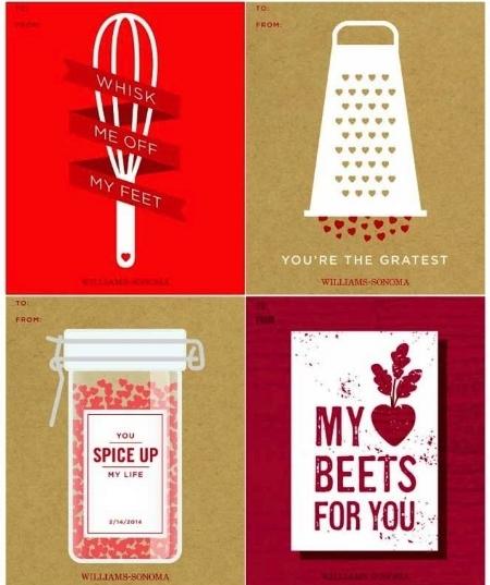 Foodie Valentines