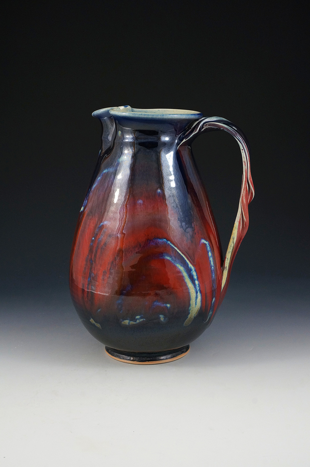 Copper Red Pitcher by Joseph
