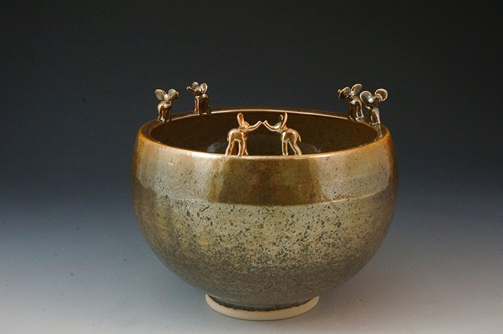 Elephant relationship bowl (strangers, meeting, and together)