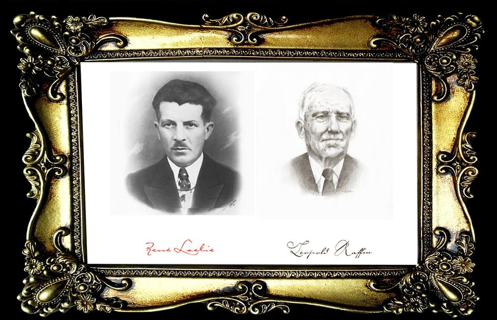 Rene Laclie & Leopold Raffin