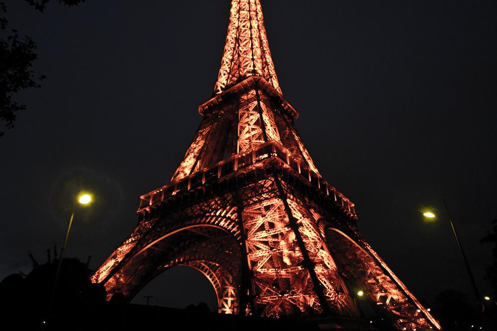 La Tour Eiffel la nuit