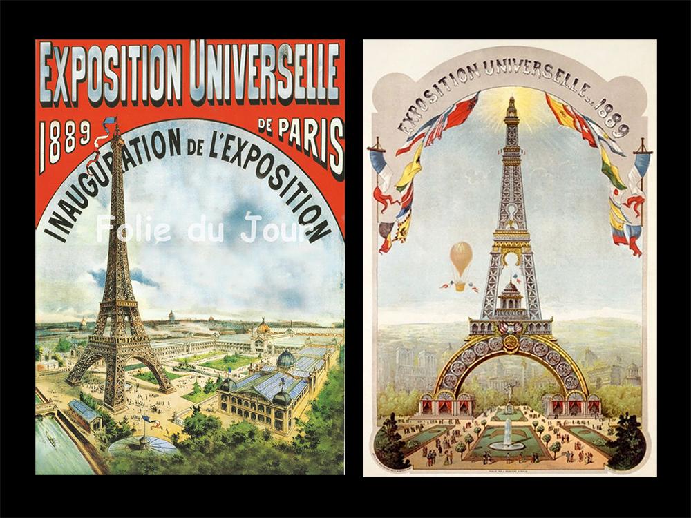 World's Fair 1889, Paris FRANCE