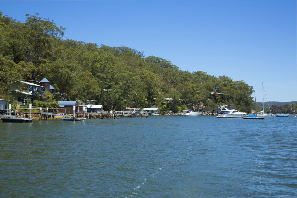 Dangar Island Hawkesbury River Reflex Digital Sydney