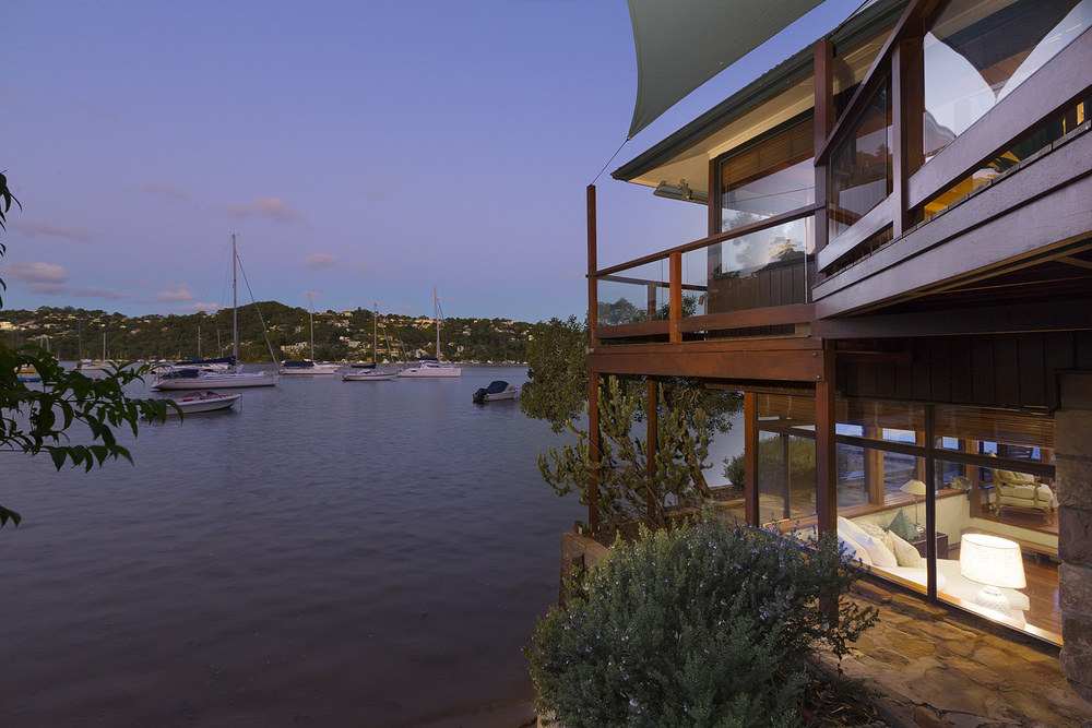 Sydney real estate photography Castlecrag