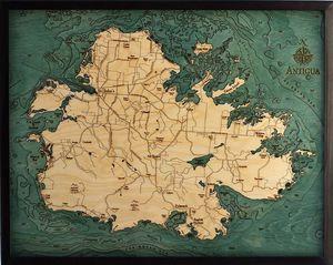 east coast maps 3d wood maps bella maps