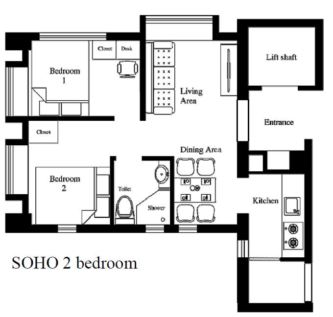 floor plan treasure view hong kong serviced apartments