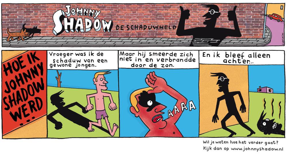 KWF Kankerbestrijding - Campagne met Johnny Shadow