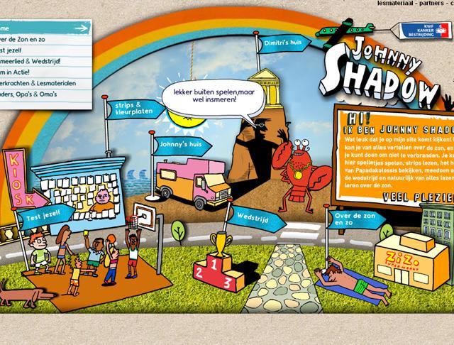 Klik hier voor de strips en illustraties die we maakten voor de KWF campagne.