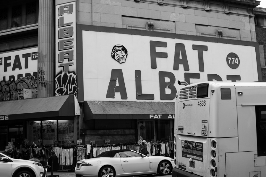 for some reason, i loved the 'fat alberts' sign