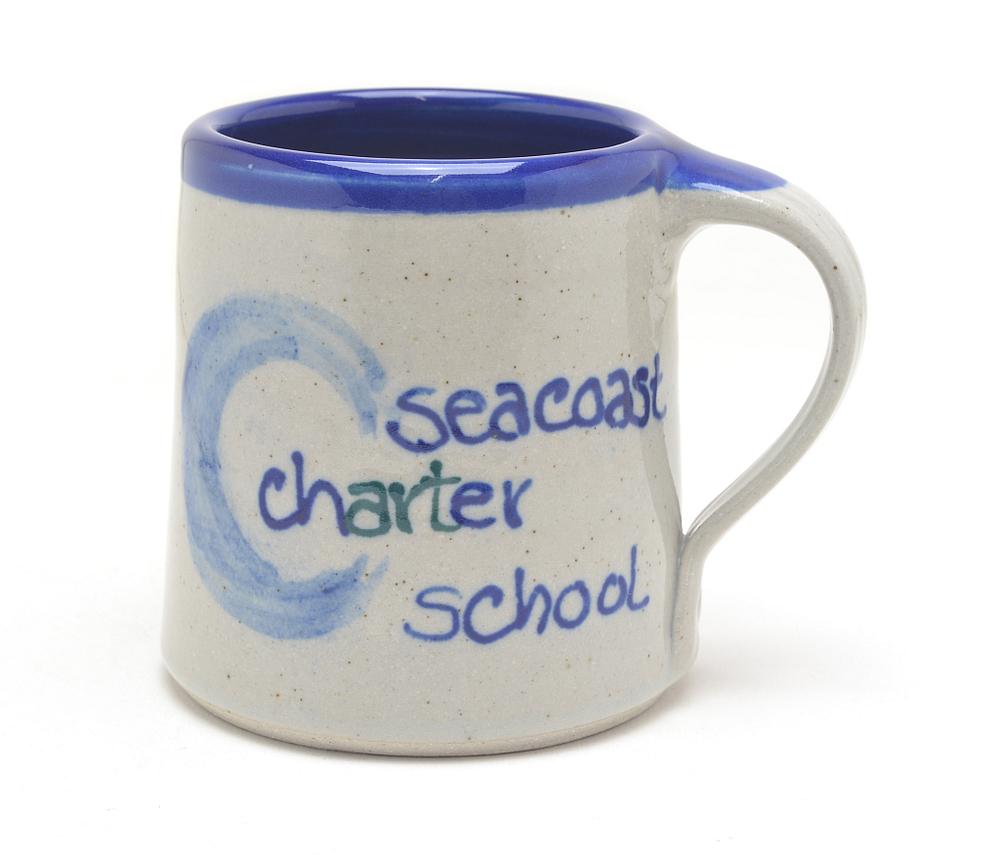 custom scs mug from great bay pottery
