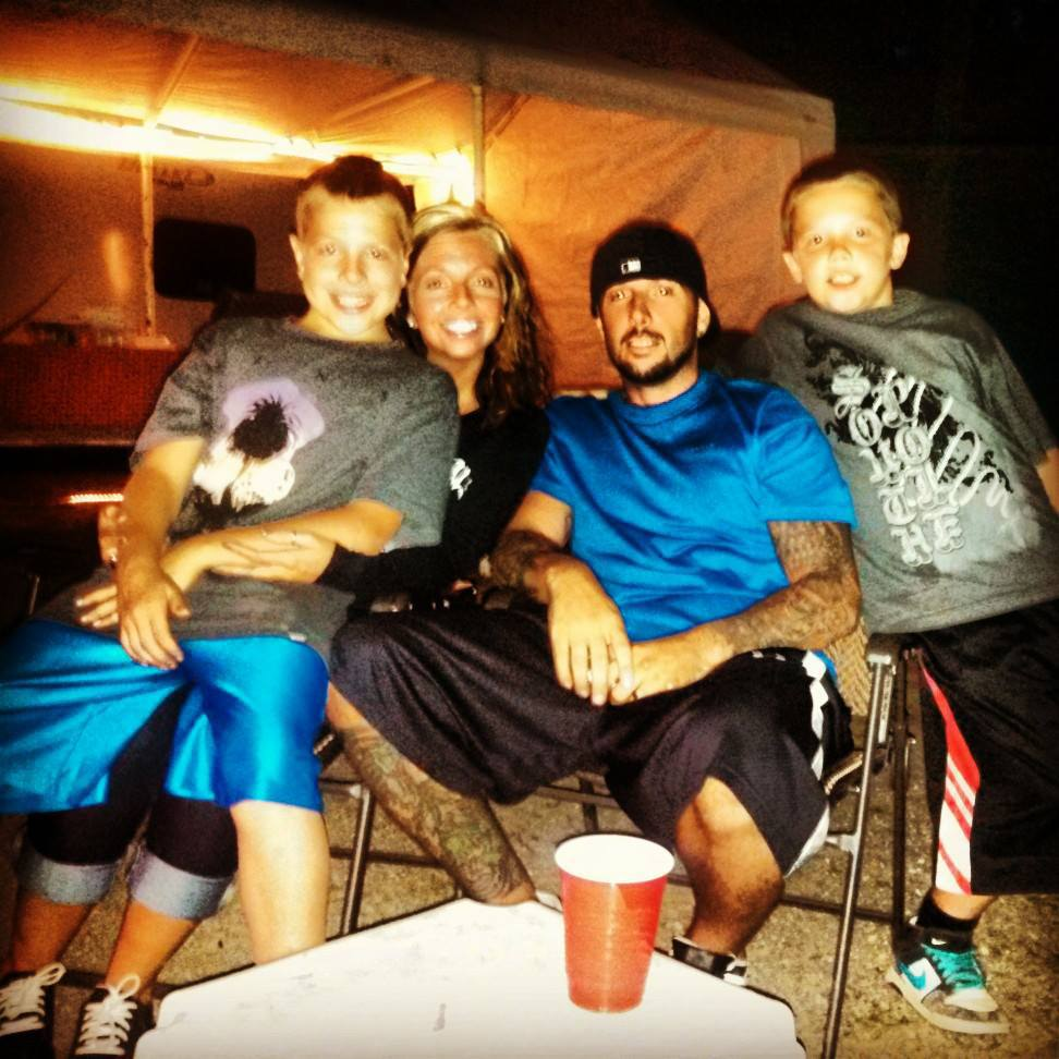Gage, Stephanie, Will, and Peyton