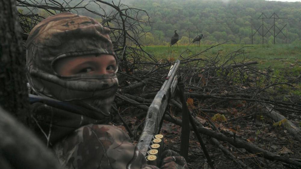 Peyton turkey hunting