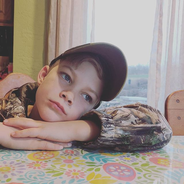 #mood when dad is taking too long to pack up for #fishingcamp the night before #mentoryouthfishing 🙄😑