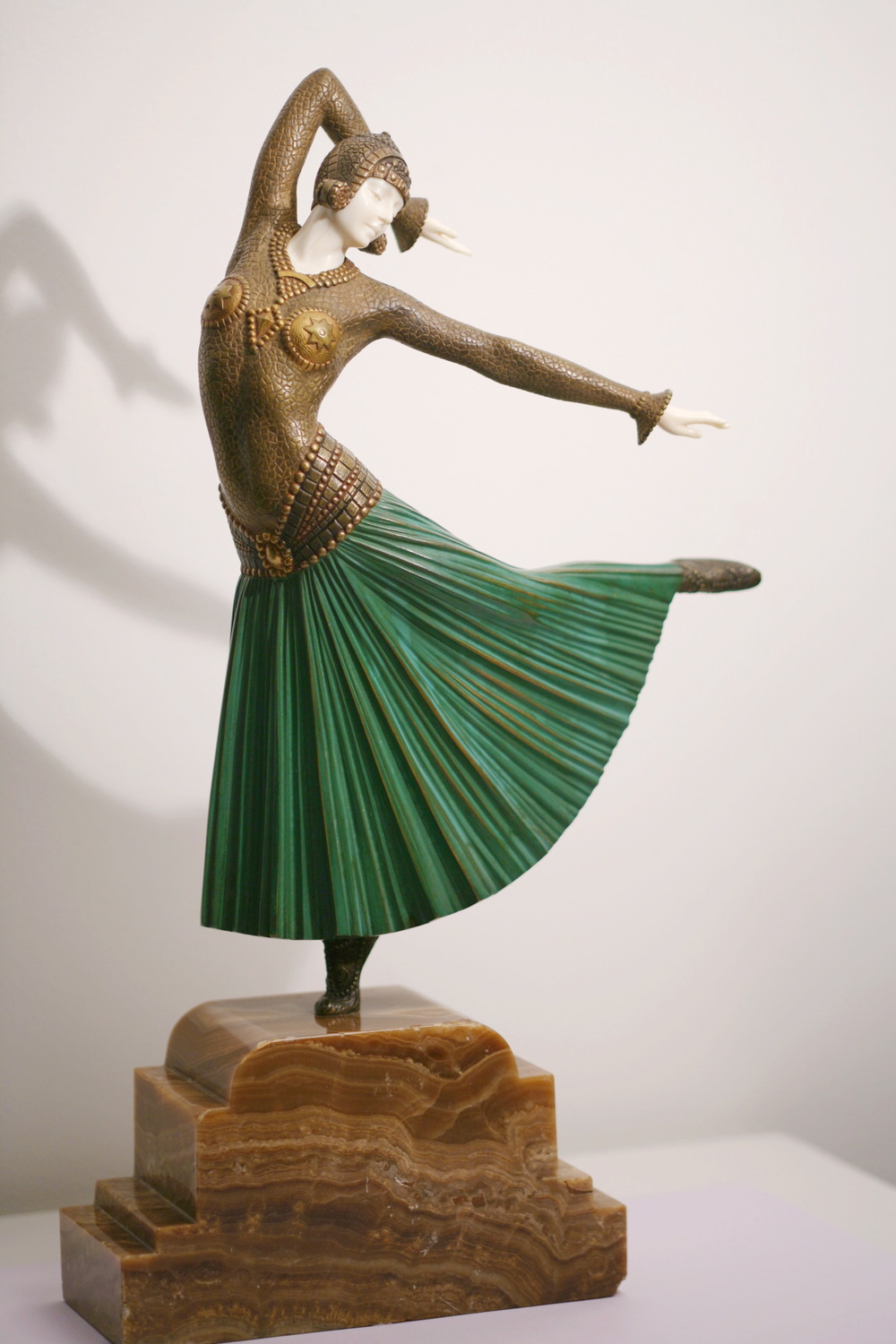 "ART DECO DANCER ""AYOUTA"""