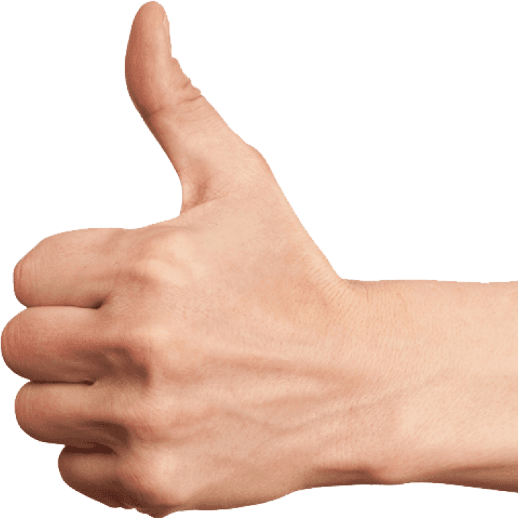 hand thumb up Green Condom Club.png