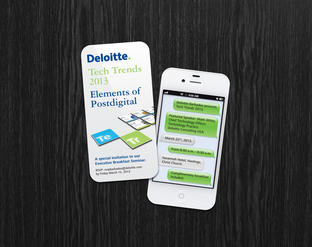 Deloitte. Tech Trends Invitation   Brand Management