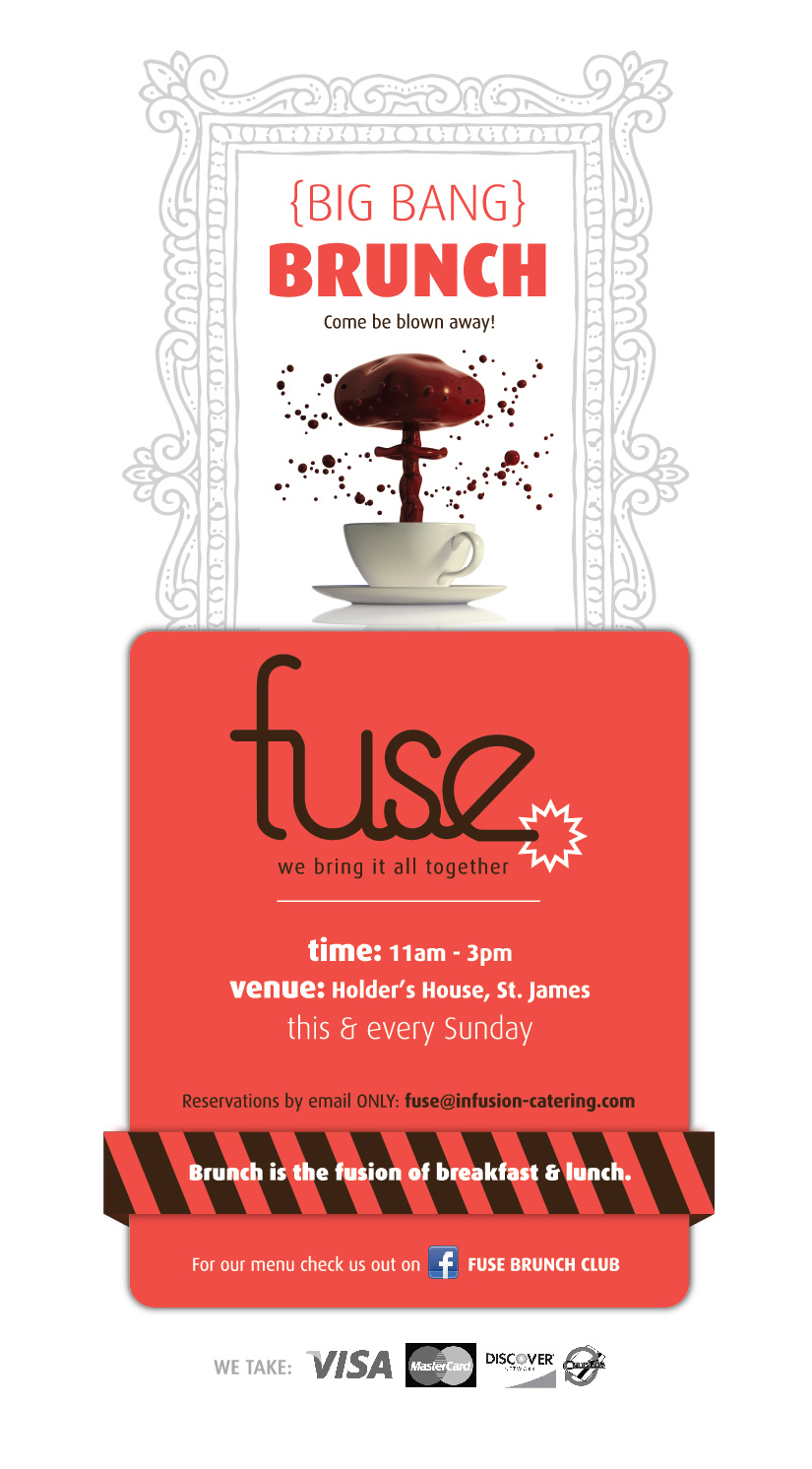 Fuse Brunch Social Media Flyer   Digital
