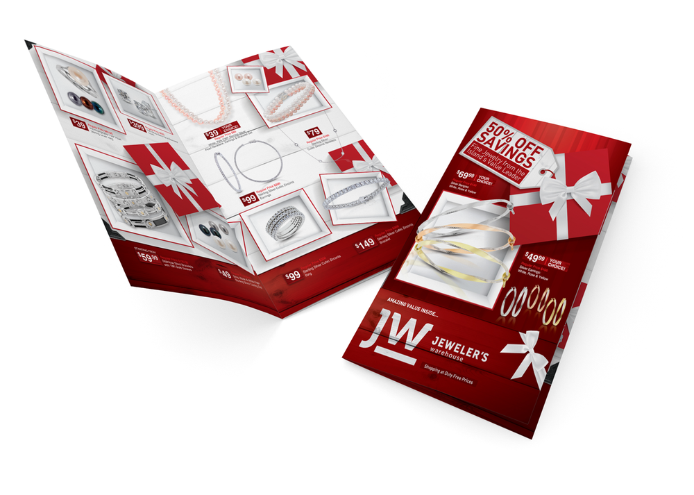 Jeweler's Warehouse Brochure   Brand Management