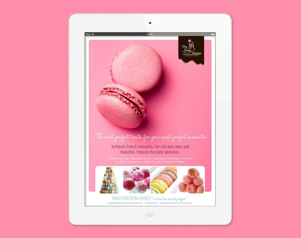 The Green Monkey Chocolatier - BrideLife Online Magazine - Ad
