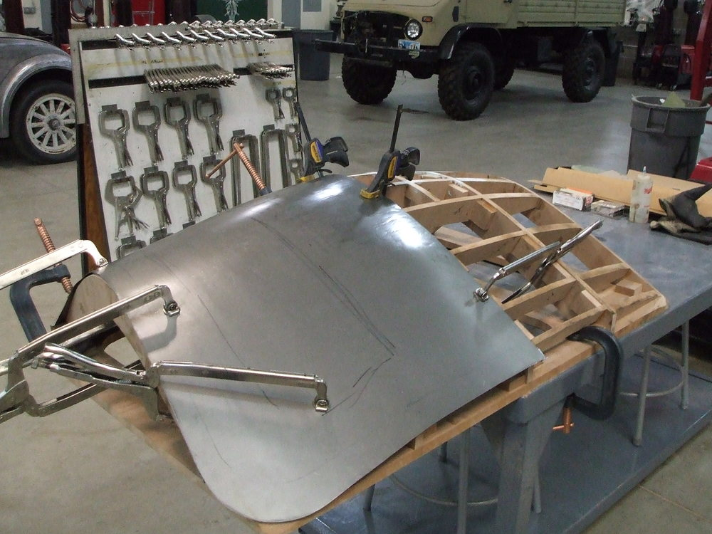 Custom Sheet Metal : Sheet metal shaping and forming — griffith