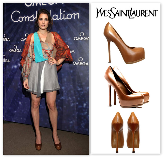 Florencia Torrente Yves Saint Laurent  YSL Ttribtoo Pumps Zapatos