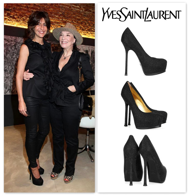 Evangelina Bomparola Yves Saint Laurent  YSL Ttribtoo Pumps Zapatos