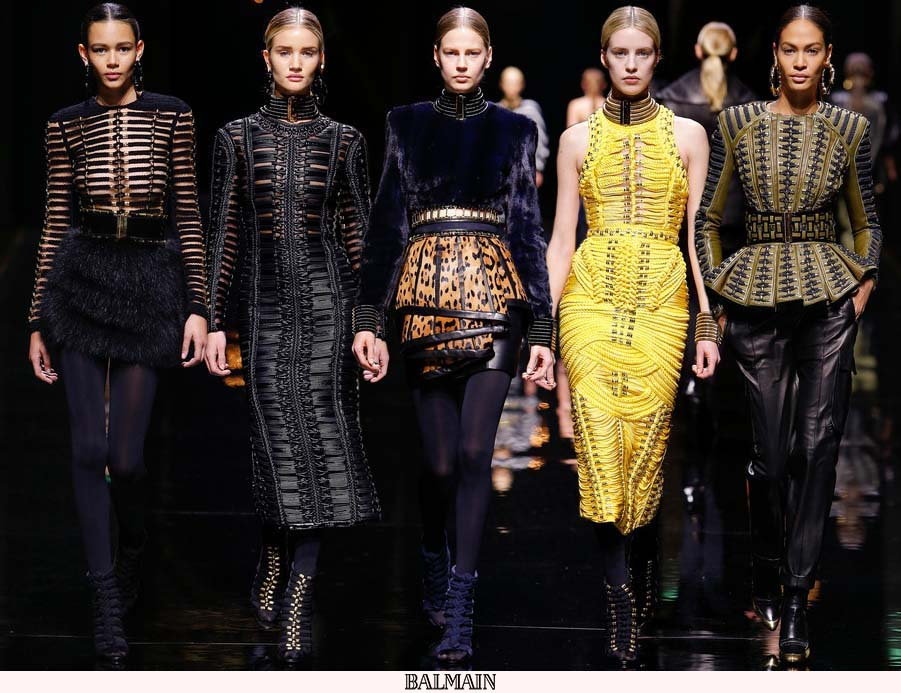 Balmain-Fall-2014-Fashion-Show
