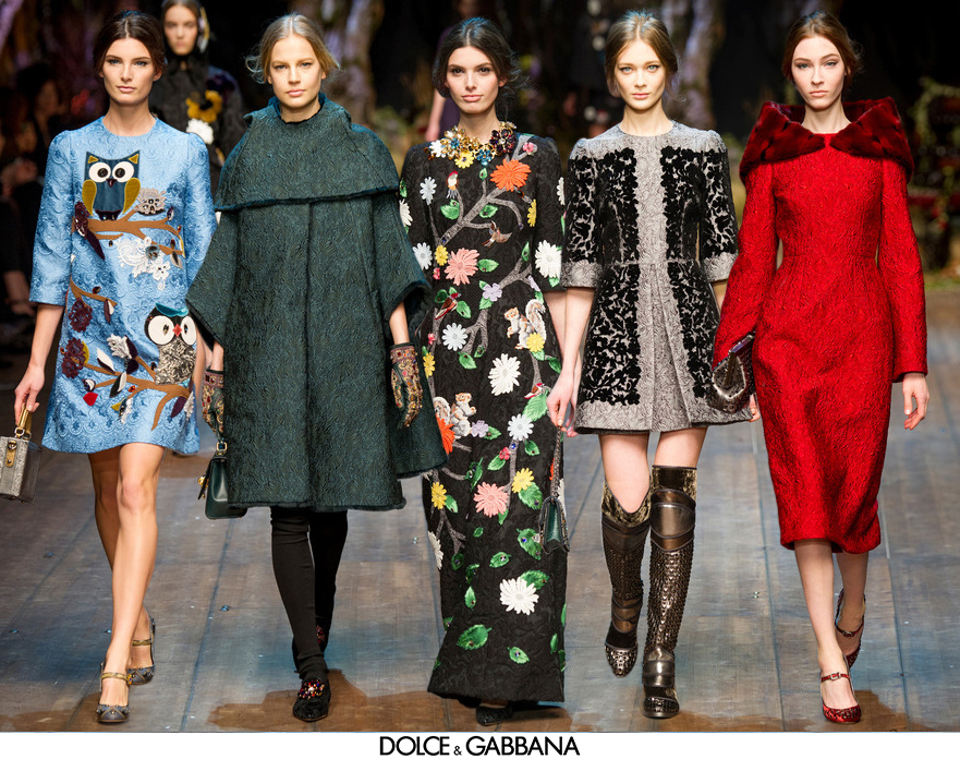 Dolce-Gabbana-Fall-Winter-2014-Fashion-Show