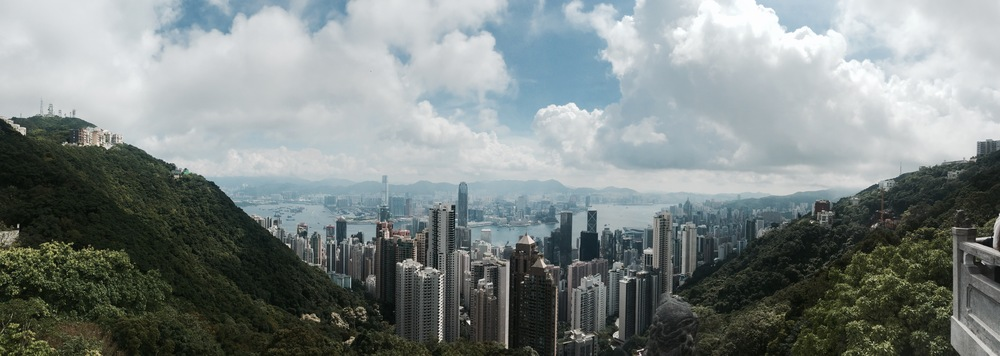 Hong Kong From Victoria Peack