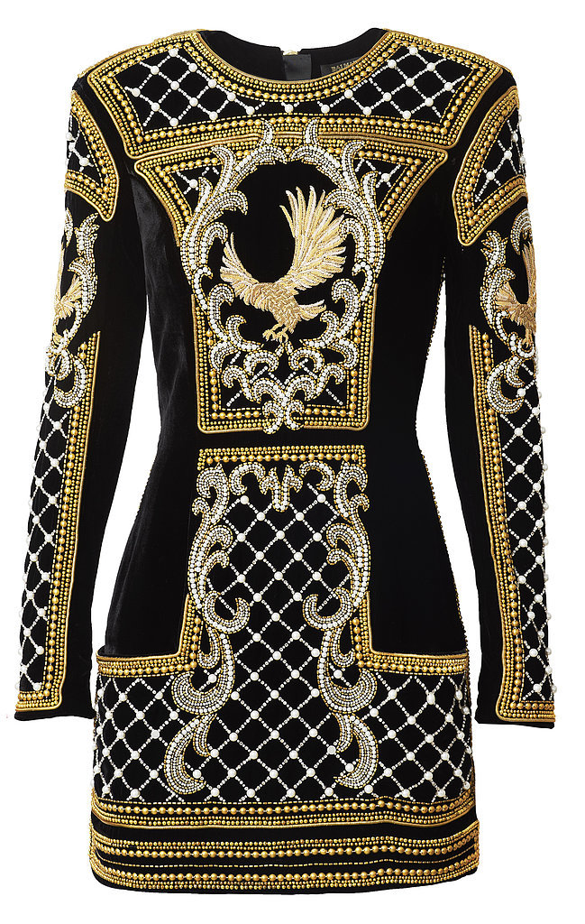 Balmain-HM-Collaboration-Long-Sleeve-Gold-Black-Wmbroidered-Dress.jpg