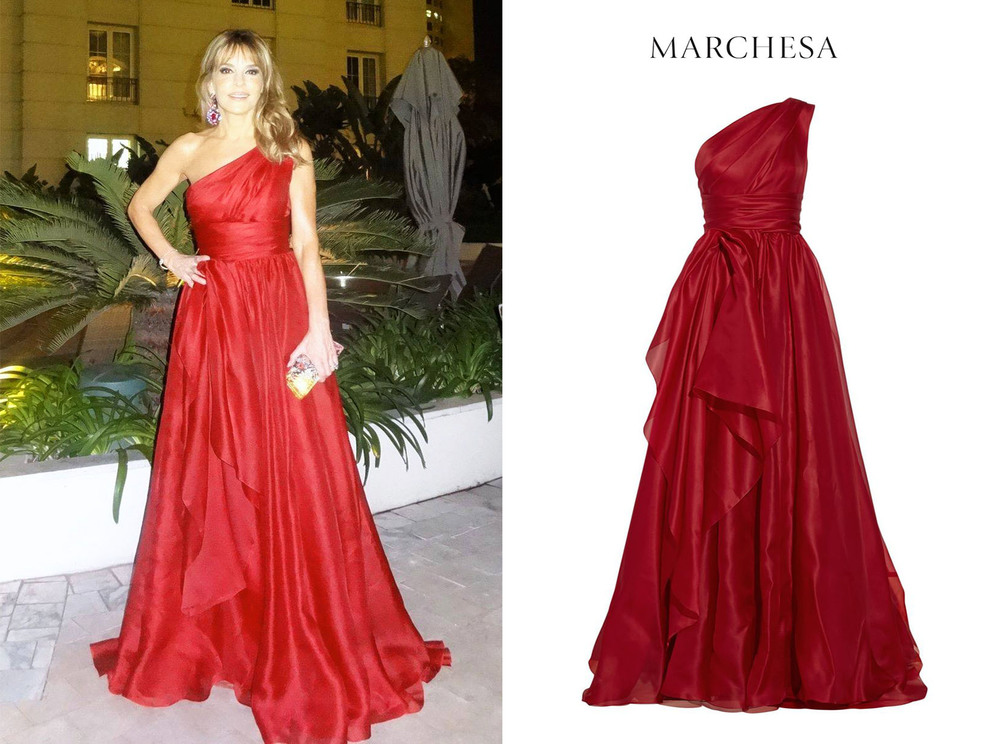 Patricia-Della-Giovampaola-Darenberg-Buenos-Aires-Gala-Hospital-de-Clinicas-One-Shoulder-Red-Sil-Marchesa-Gown.jpg