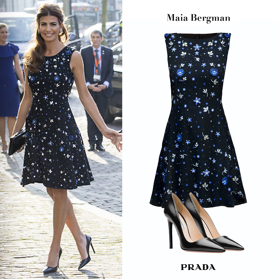 Juliana_Awada_Holanda_Netherlands_Argentina_First_Lady_Fashion_Primera_Dama_Vestido_Maia_Bergman_Embroidered_Floral_Dress_Flores_Zapatos_Zaffiano_Prada_Negros_Black_Pumps_Looks.jpg