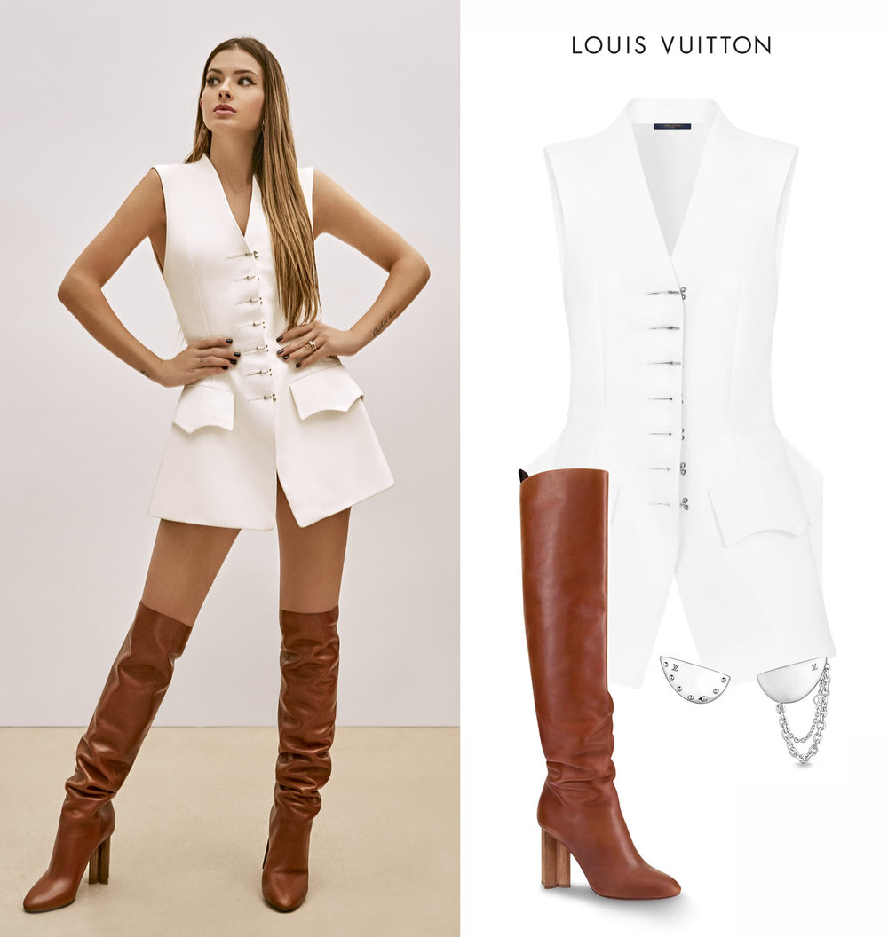 China_Suarez_Revista_de_Punta_Louis_Vuitton_Silhouette_Boots_Bionic_Earrings_Chaleco.jpg