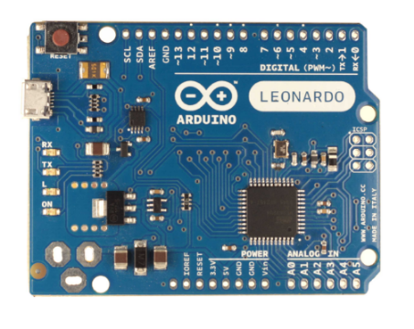 The Arduino Leonardo