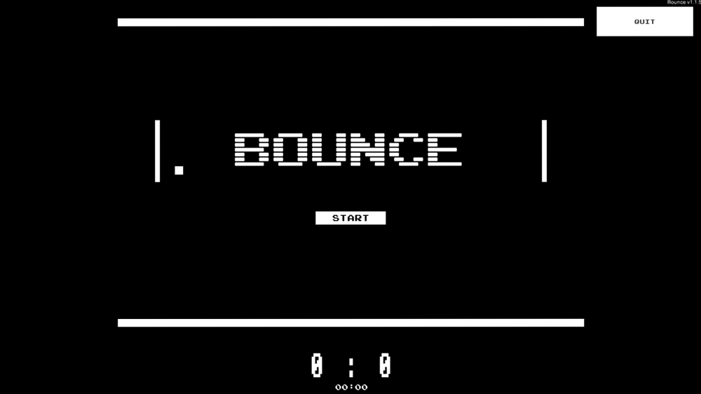 Bounce, a Pong-like game played with the MyoPro