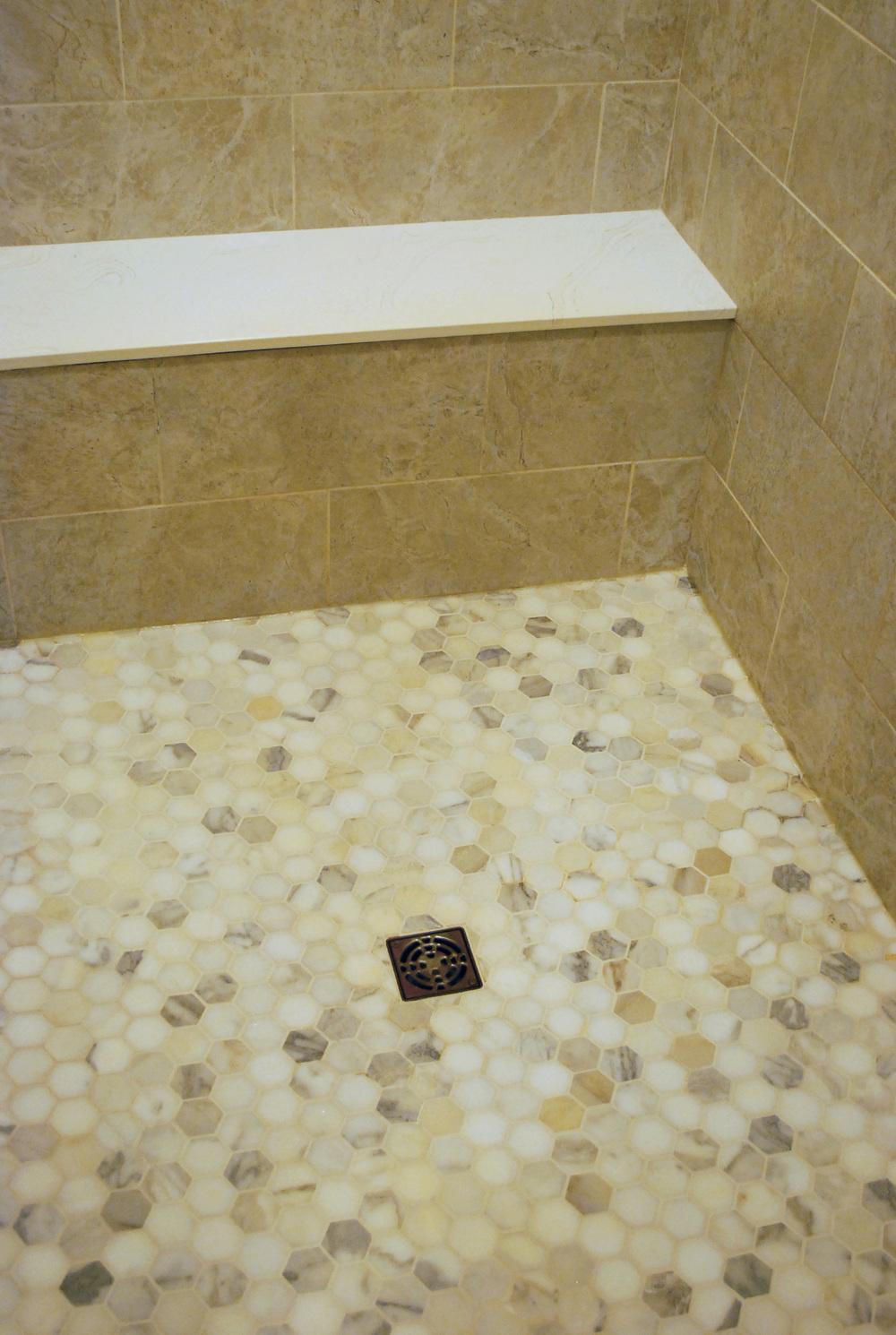 Calacatta Gold Hexagon
