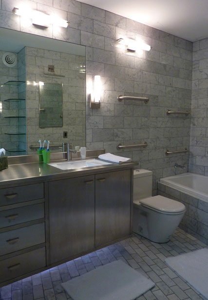 Modern Carrara Bath