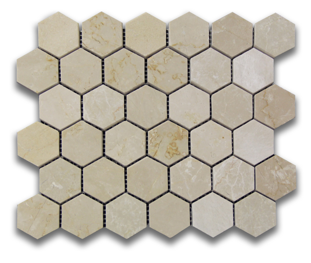 Botticino Hexagon