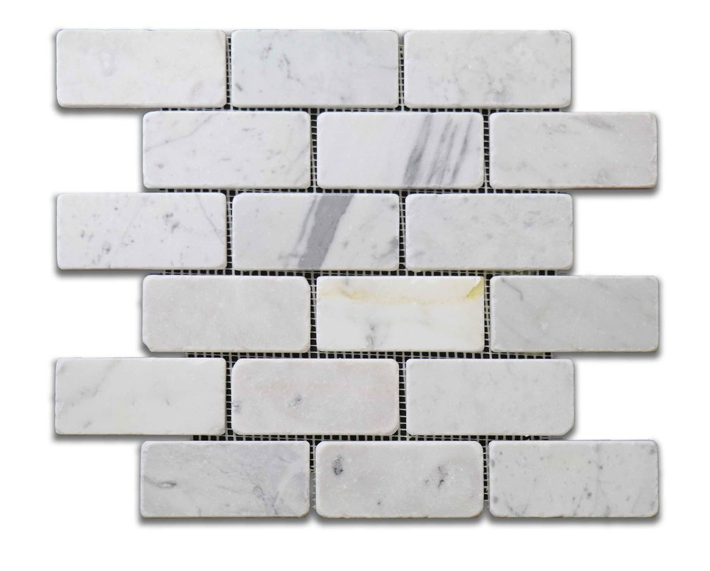 "Antique Carrara 2""x4"""