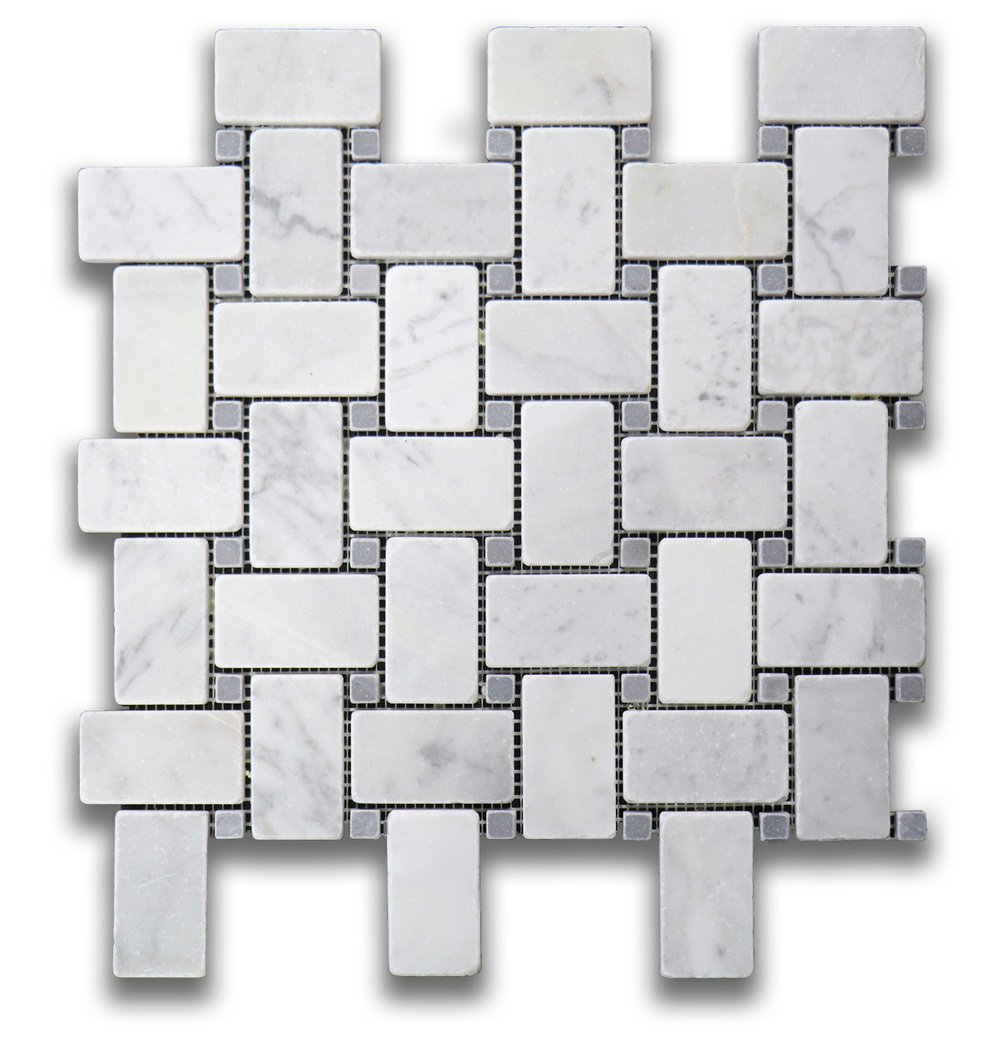 Antique Carrara Basket Weave
