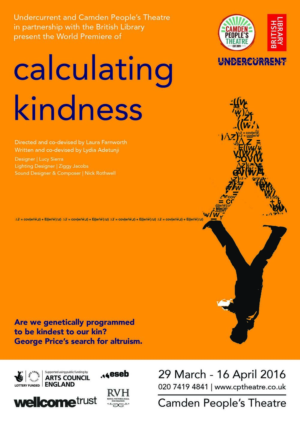 Calculating Kindness poster