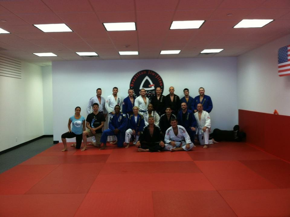 My seminar at Gracie Sports, Home to Stambowsky