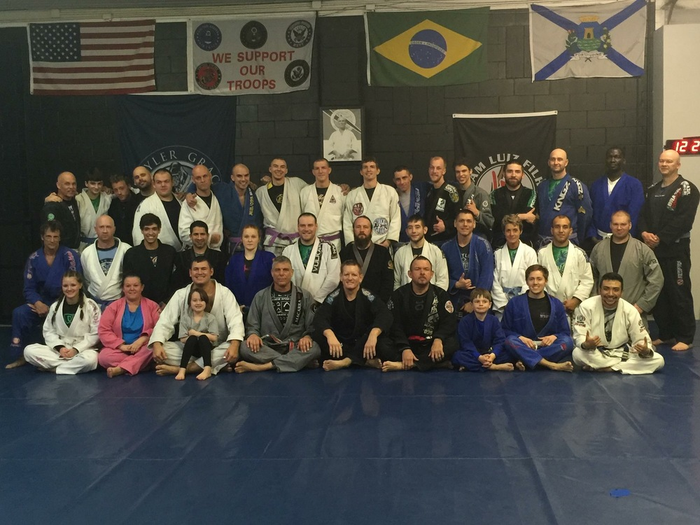 A most amazing seminar... Thank you as always for everything you have and continue to do for Jiu-Jitsu.