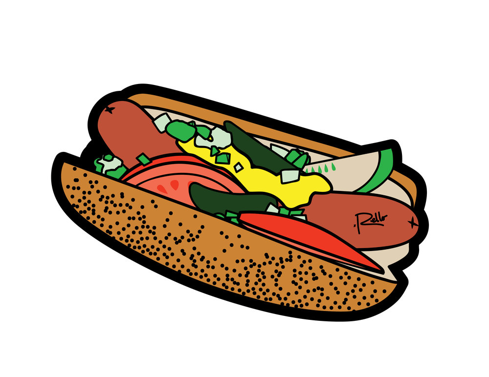 RELLO CHICAGO DOG