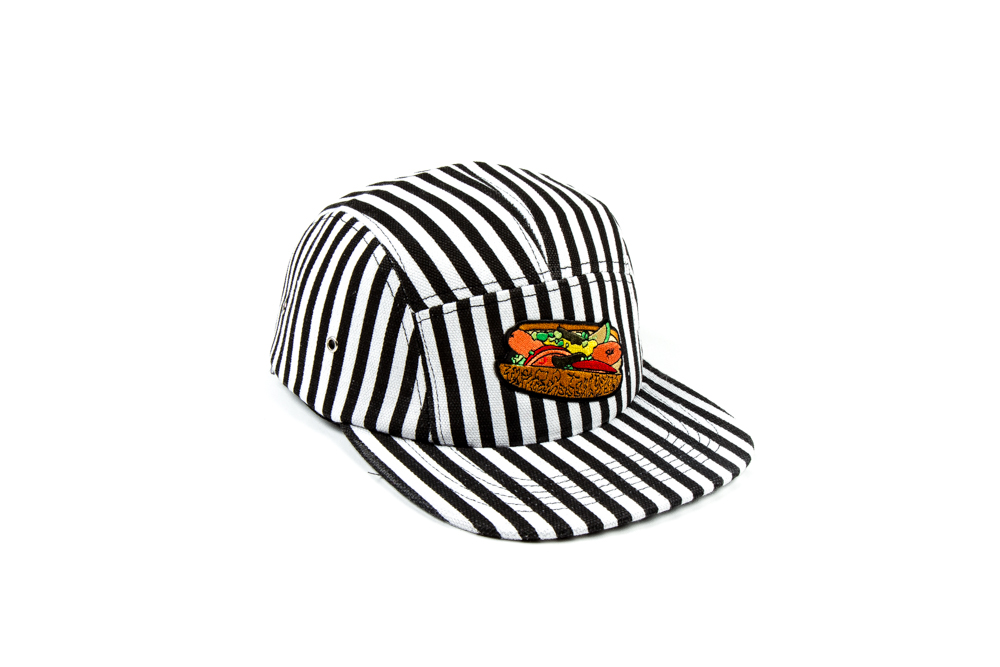 CHICAGO DOG HAT STRIPE